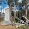 Во время республиканского субботника сотрудники райвоенкомата приняли участие в благоустройстве воинских захоронений