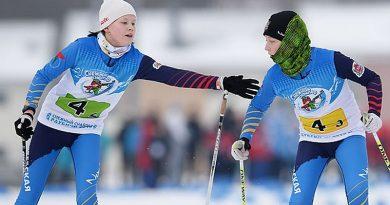 Юные биатлонисты разыграли медали «Снежного снайпера-2019» в смешанных эстафетах