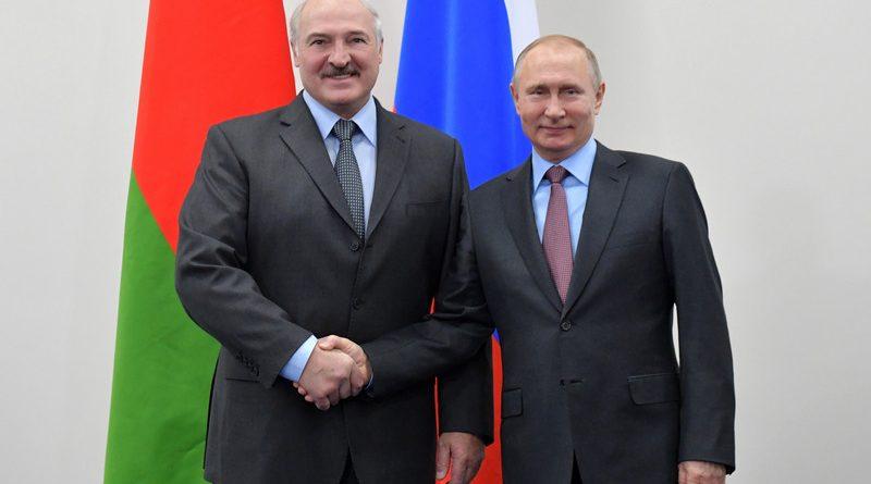 Рабочий визит Президента Беларуси в Россию